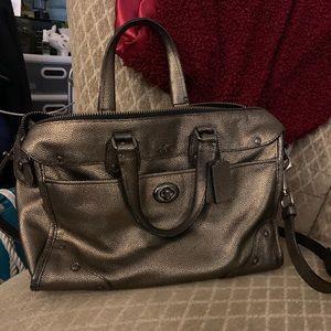 Authentic Coach Dark Gold handbag